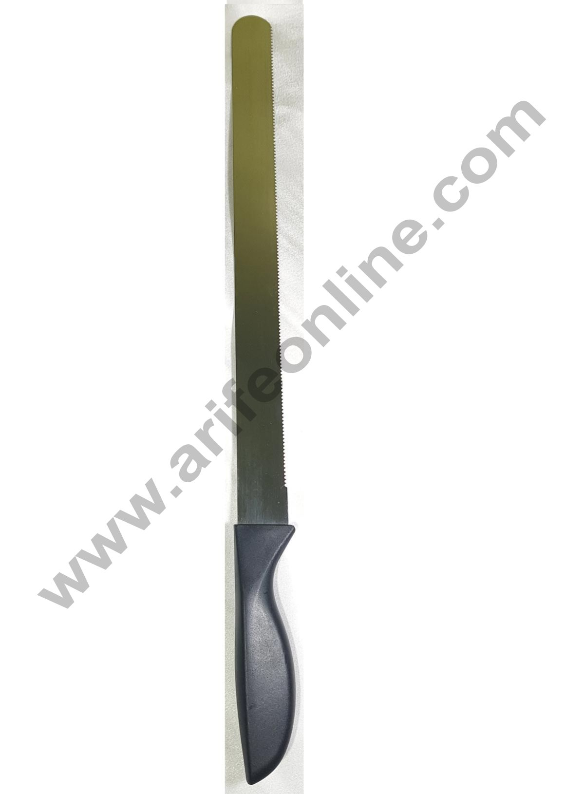 Cake Decor Straight Spatula Serrated Knife,Combo Cake Pallate Knife-10inch/1pieces