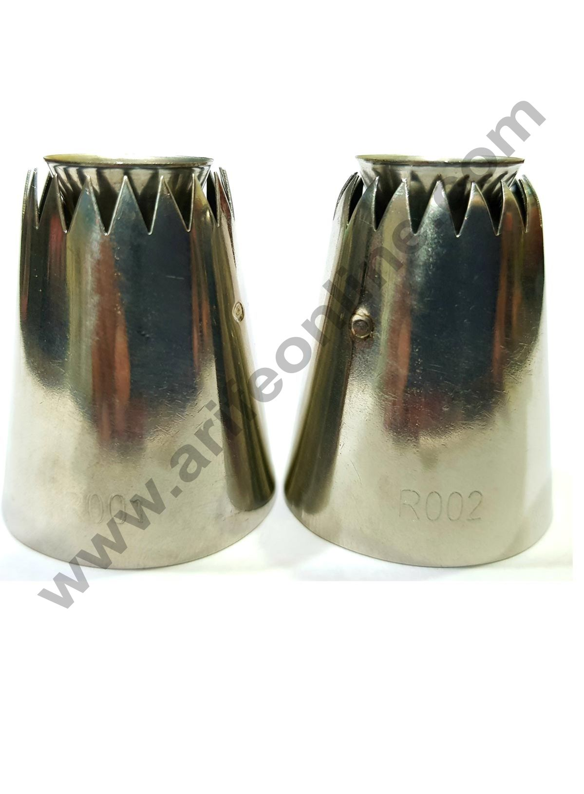 Cake Decor 2 Pcs Set Extra Large Sultan Premium Piping Nozzle for Sultane Style,No:R001,R002