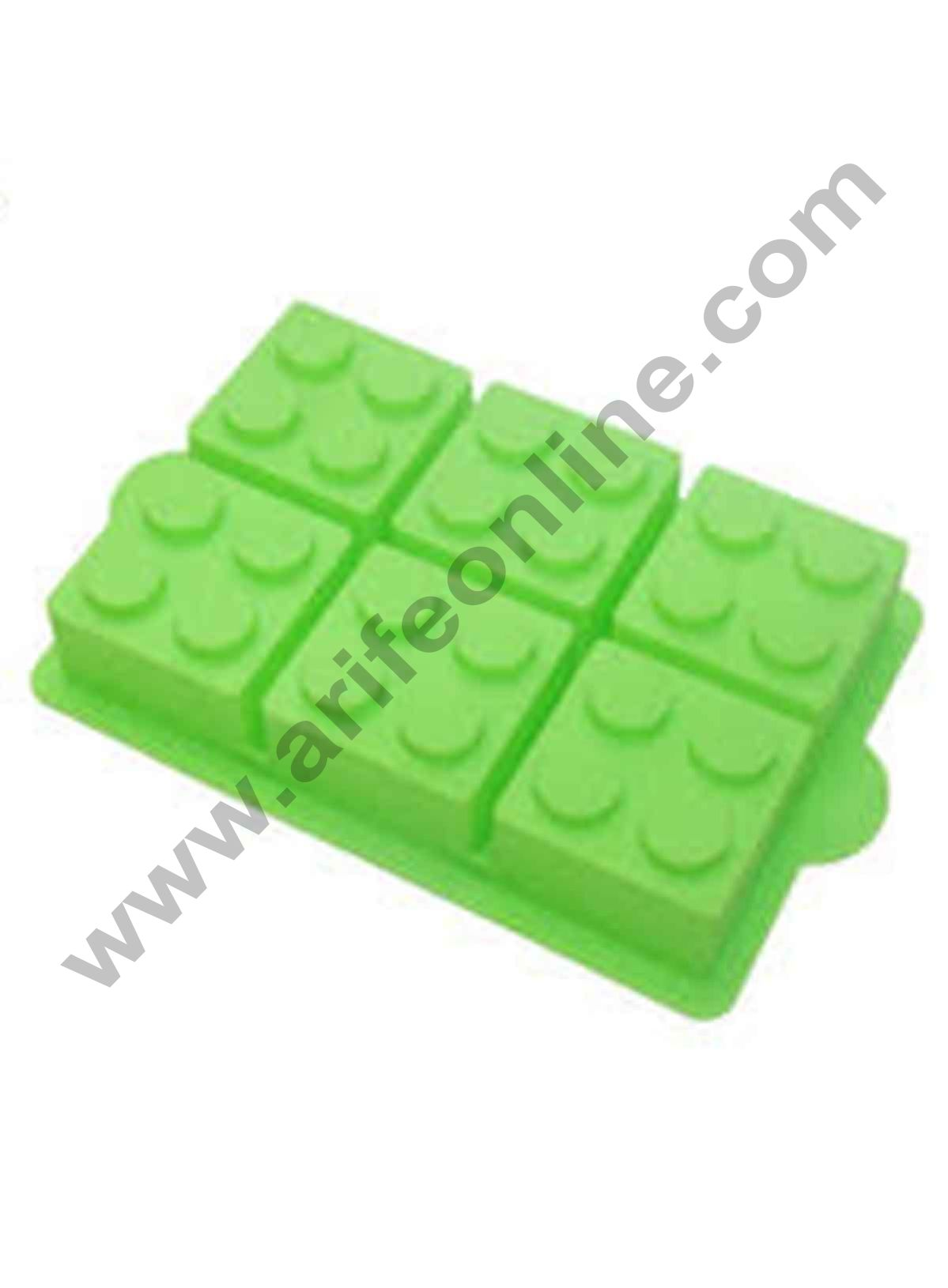 Cake Decor Silicone Brick Blocks Building Shape Cake Decorating Tool Ice Cube Mold Party,Dessert Pastry Soap and Muffin Baking Moulds