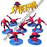 Cake Decor Ultimate Spider man CAKE TOPPER Superhero 7 Figure Set Birthday Party Cupcakes Figurines Marvel Comics