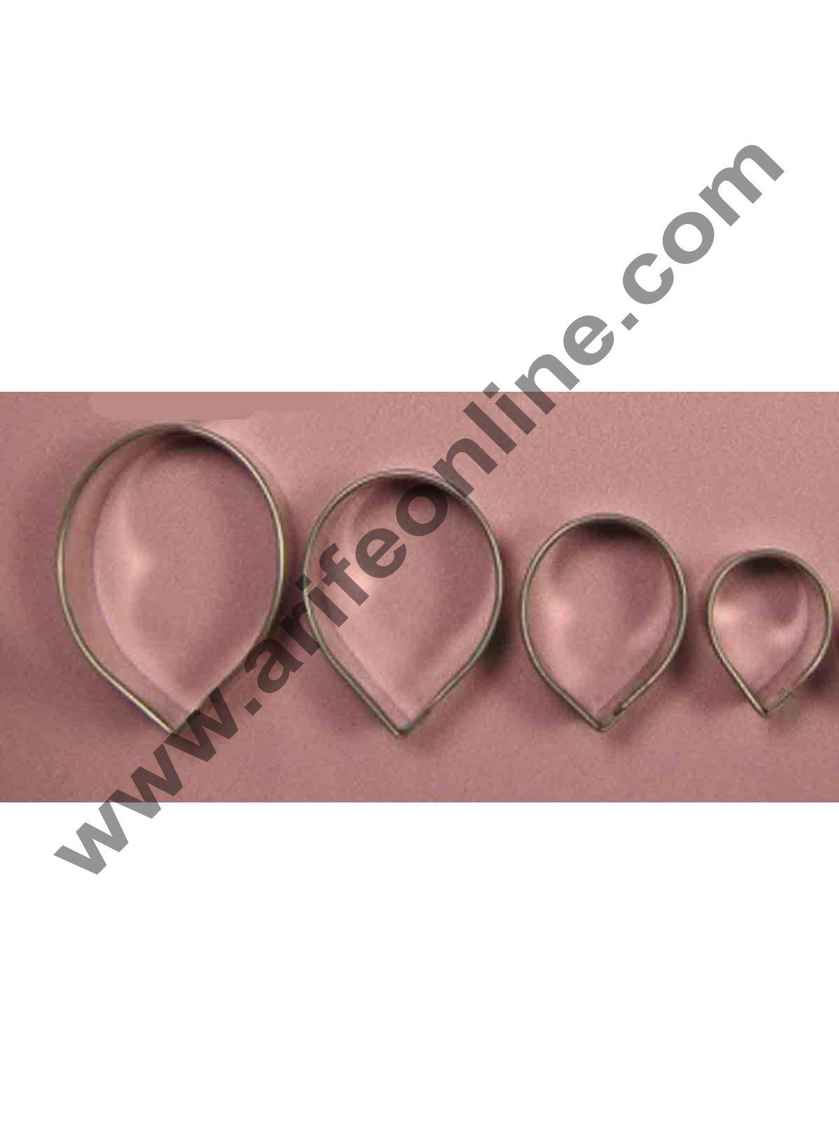 Cake Decor 4 Pcs Rose Leaf Shape Cutter Bakeware Mould Biscuit Mould Set Sugar Arts Fondant Cake Decoration Tools