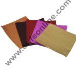 Cake Decor Matt Embossed Metallic Plastic Chocolate Wrapper, Multicolour 1