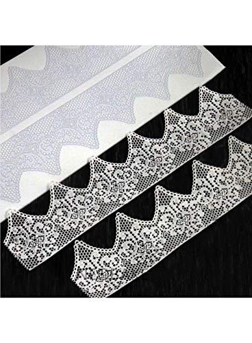 Cake Decor Silicone Mold Fondant Silicone Lace Mat Cake Edge Decoration Cake Decorating Pastry Tools Baking Mat Pad Sheet 3