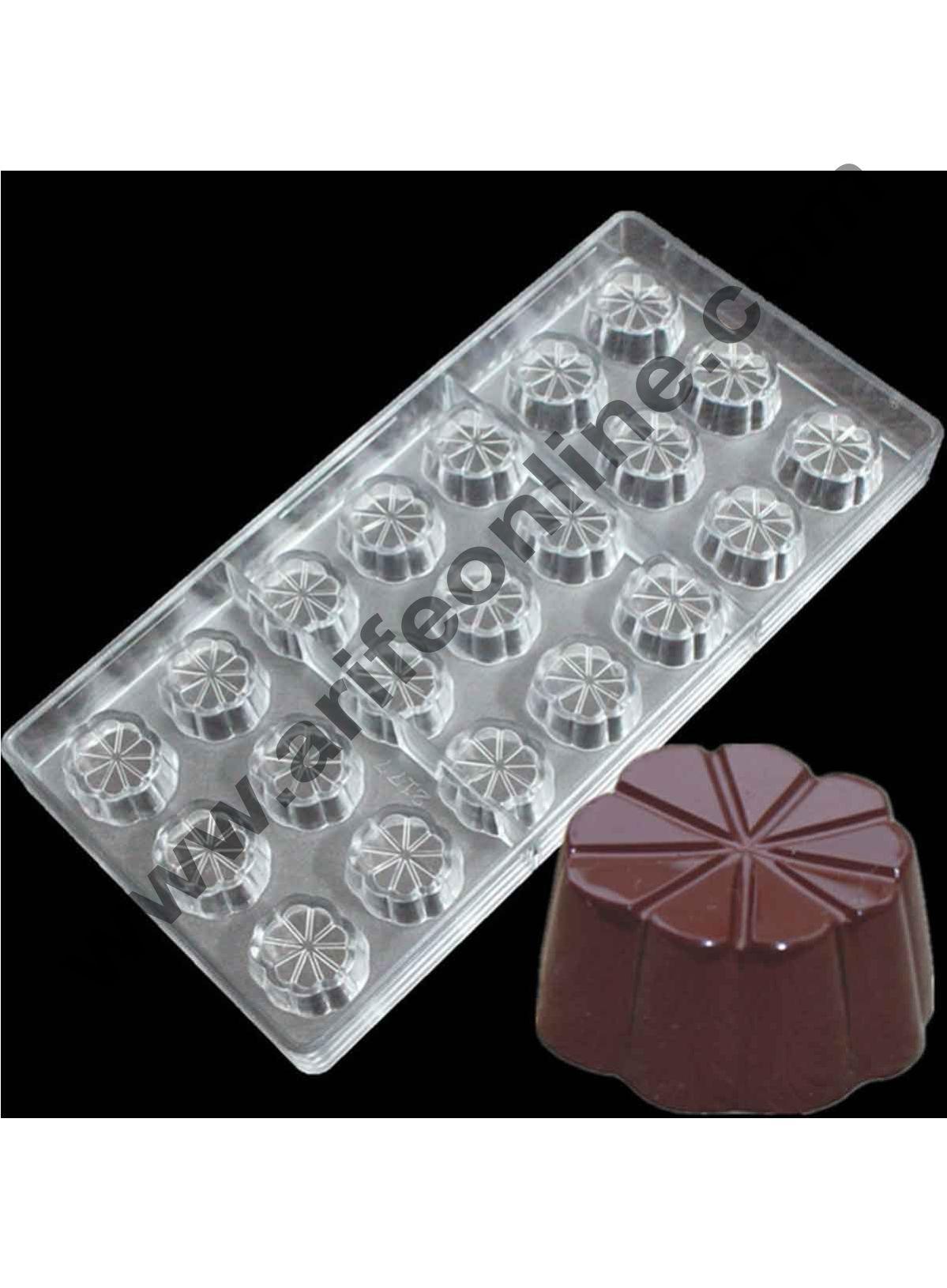 PAINT BRUSH CHOCOLATE LOLLIPOP MOULD 3 CAVITY