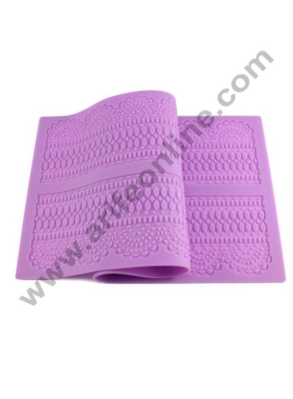 Cake Decor Silicone Mat Fondant Lace Mold Decorating Tools Cakes Molds Chocolate Mold Bakeware Dessert Decorators Flowers Decor 1