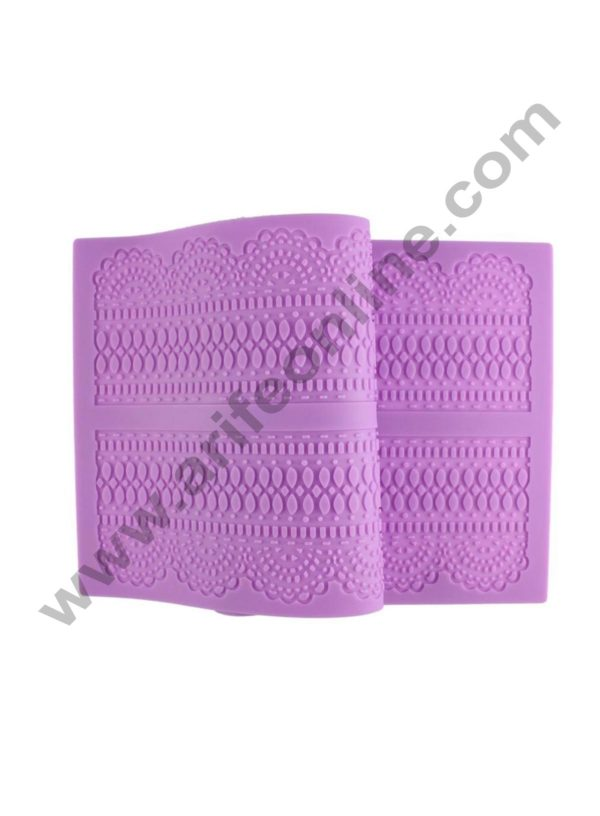 Cake Decor Silicone Mat Fondant Lace Mold Decorating Tools Cakes Molds Chocolate Mold Bakeware Dessert Decorators Flowers Decor 3