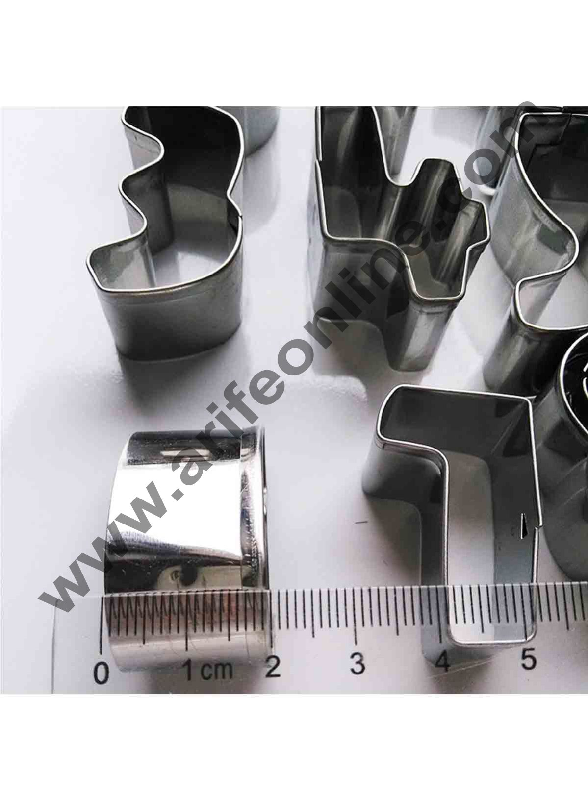 Cake Decor 0 To 8 New Numbers Shape Cookie Cutter Bakeware Mould Biscuit Mould Set Sugar Arts Fondant Cake Decoration Tools