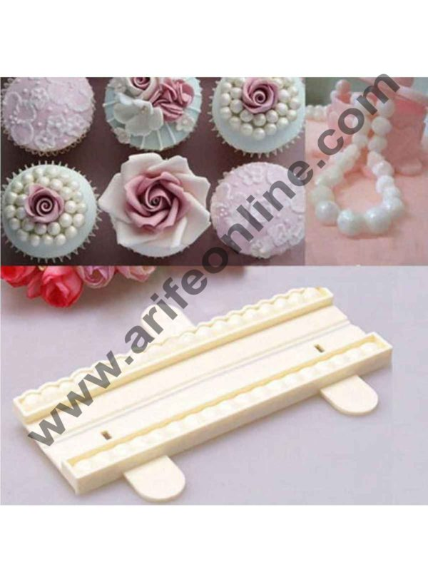 Cake Decor Kitchen Cookie Pastry Bead Pearl Mold Fondant Cutter Cake Decorating 2