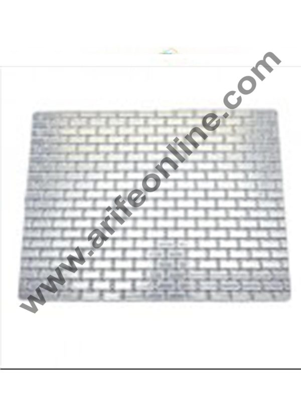 Cake Decor Include Brick Oval and Cobblestone Pattern Texture Sheet( set of 3 Pcs ) 1