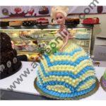 Cake Decor Plastic Lovely Doll Birthday Cake Topper Cake Decorating Tools, 4-Piece Set 4