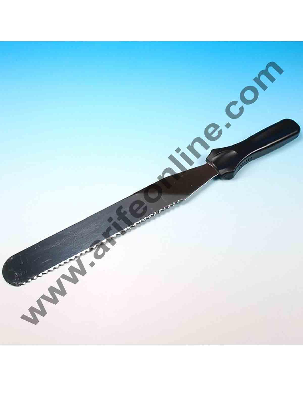 Cake Decor Straight Spatula Serrated Knife,Combo Cake Pallate Knife