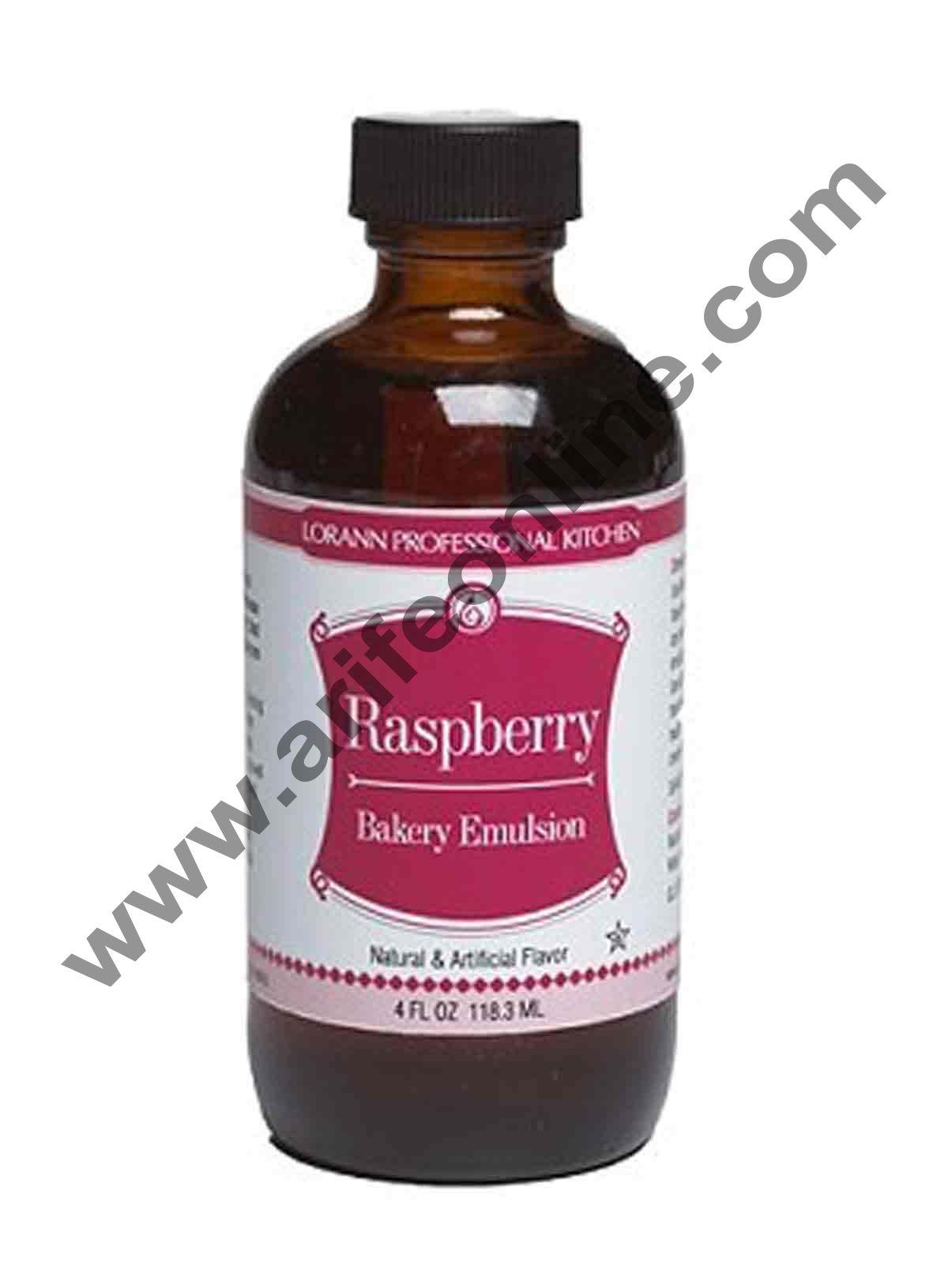 LorAnn Oils Bakery Emulsions Natural & Artificial Flavor 4 oz - Raspberry
