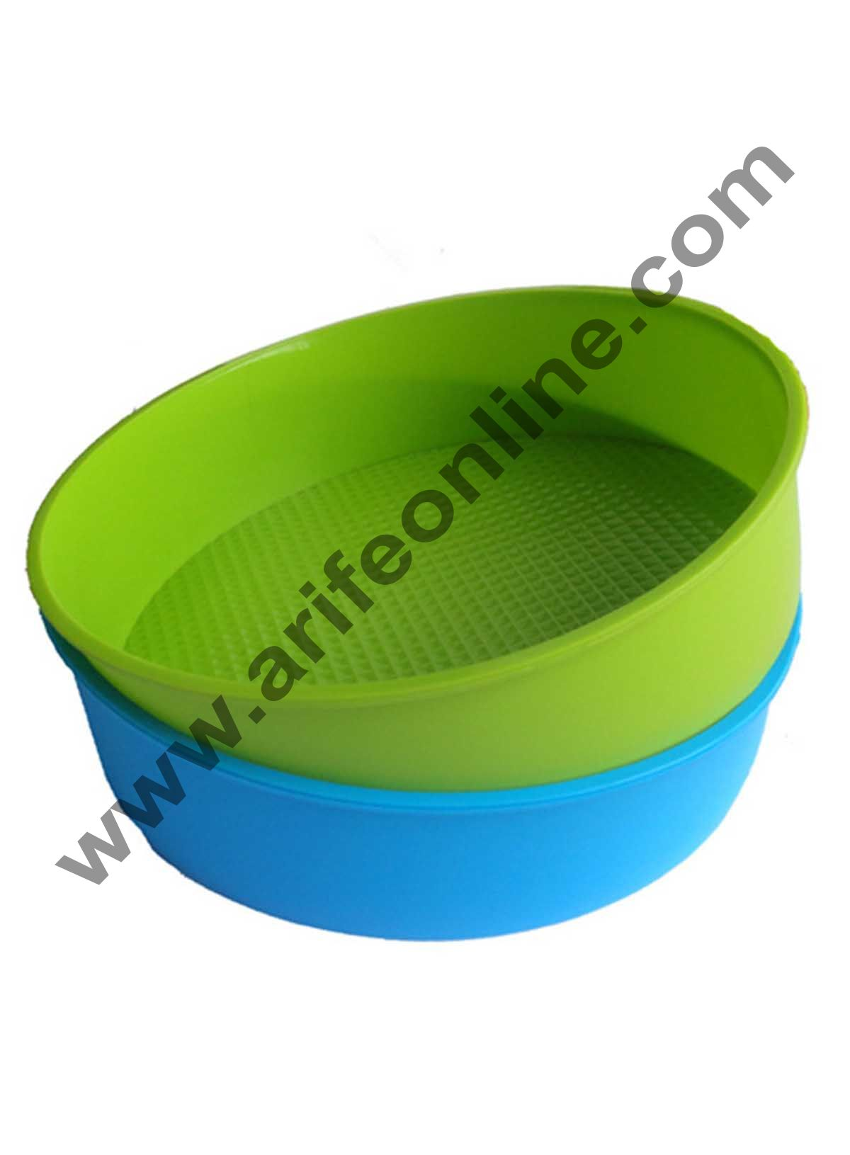 Cake Decor Silicon Bakeware Round Shape Cake Mould