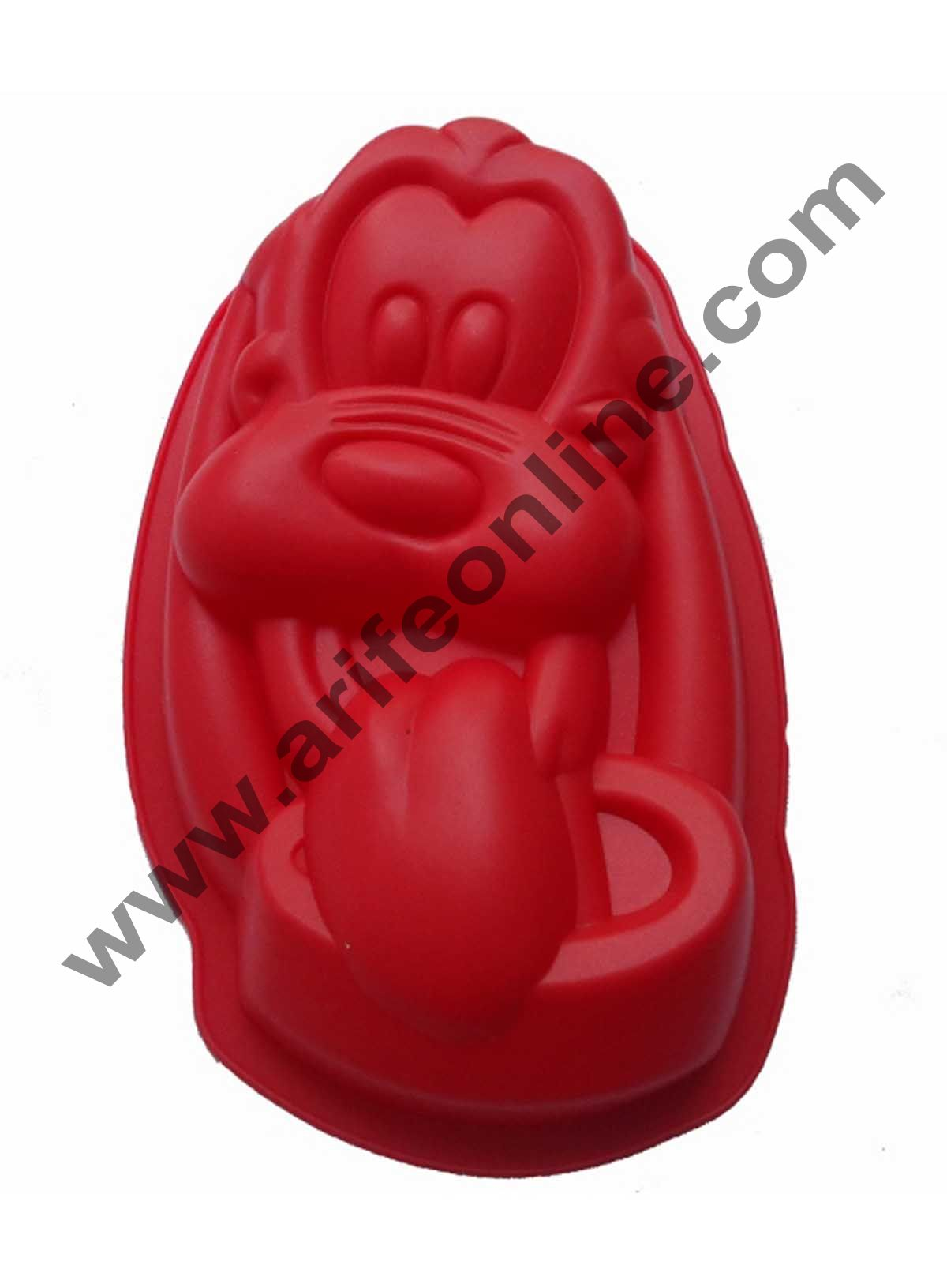 Cake Decor Silicon Bakeware Dog Cartoon Shape Cake Mould