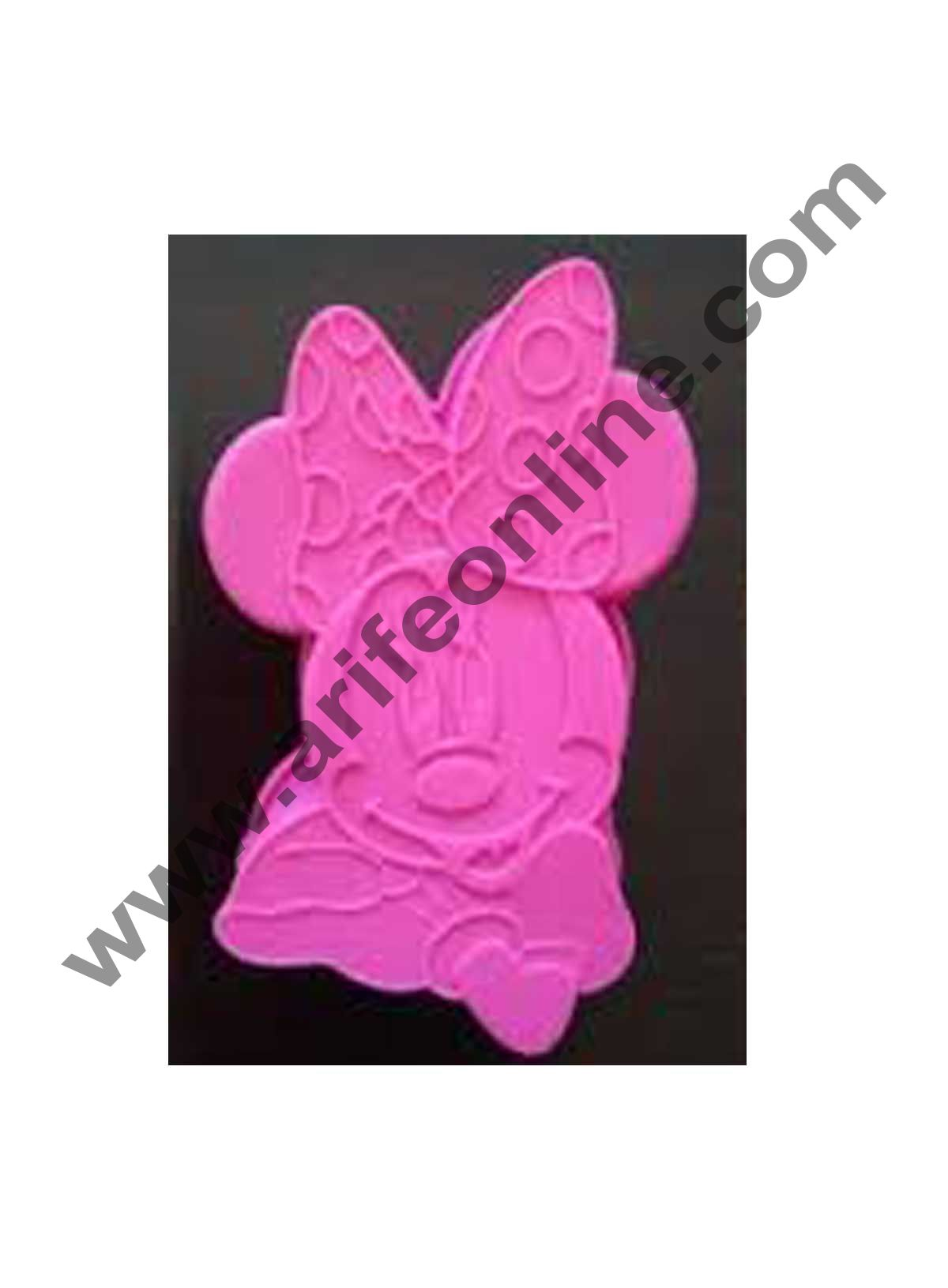 Cake Decor Silicon Bakeware Mickey Mouse Shape Cake Mould