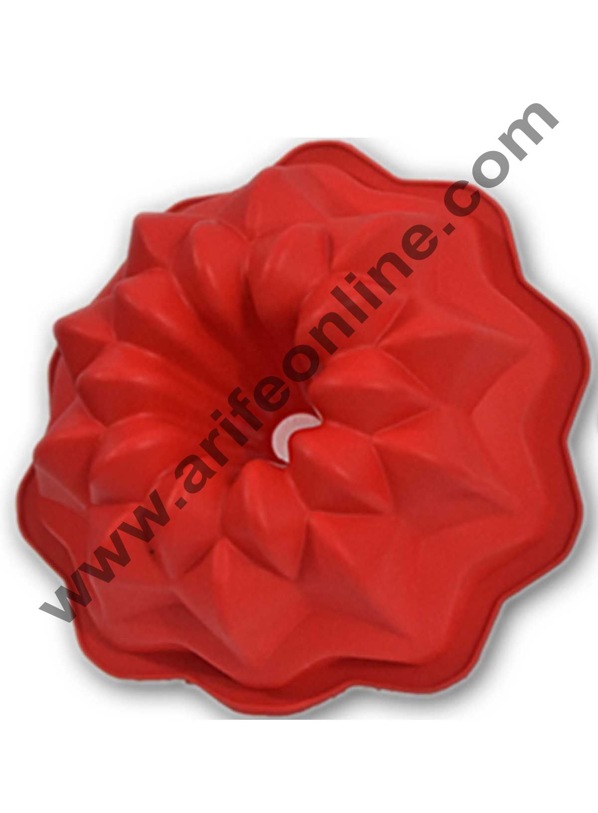 Cake Decor Silicon Bakeware Rose Shape Cake Mould