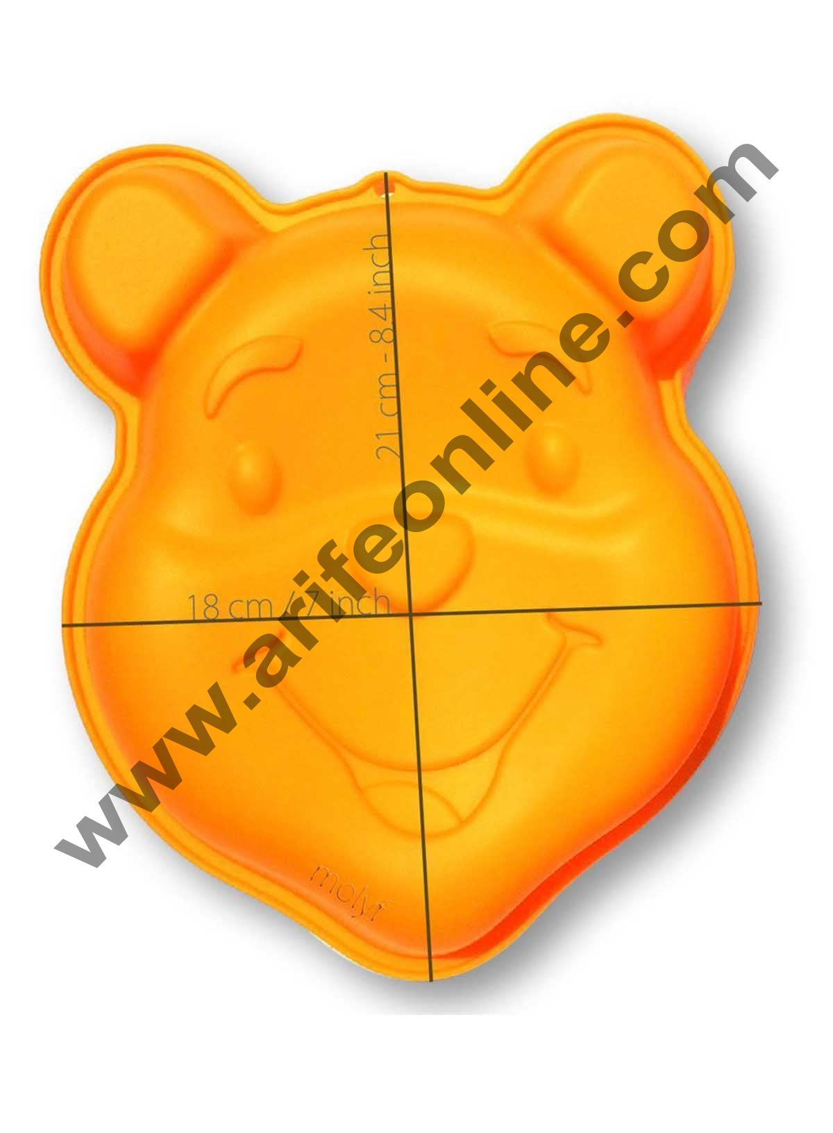 Cake Decor Silicon Bakeware Pooh Bear Shape Cake Mould