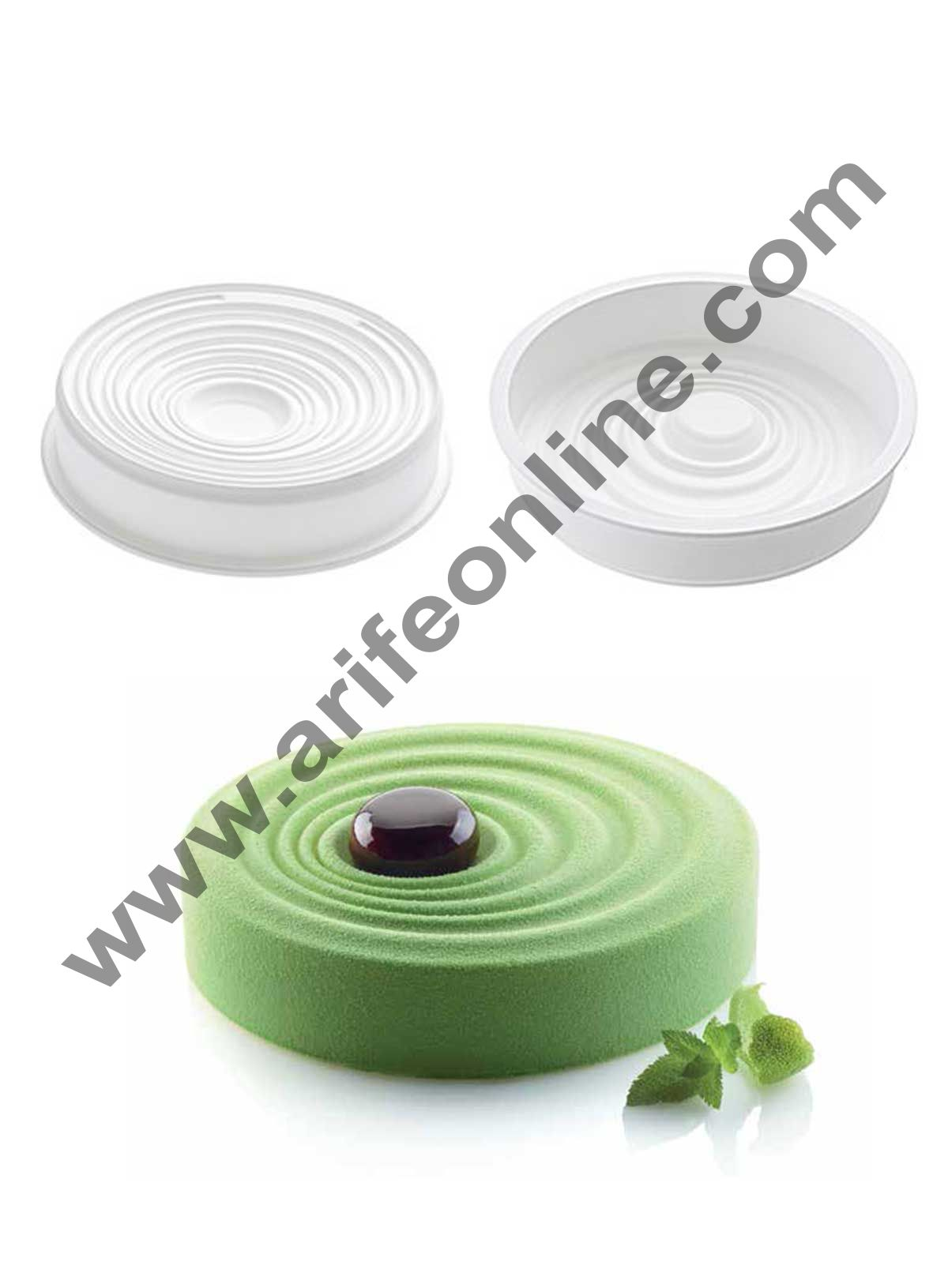 Cake Decor Silicon Vague Design Cake Mould Mousse Cake Mould Silicon Moulds