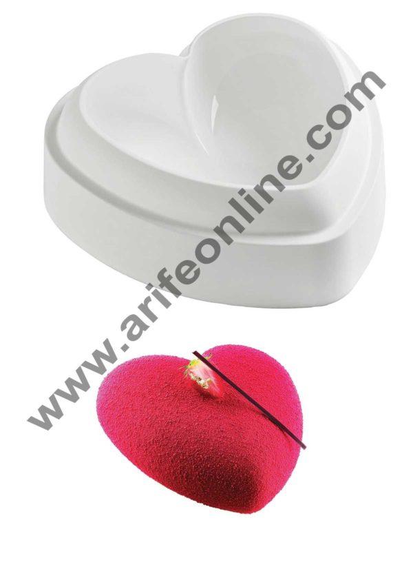 Cake Decor Silicon Small Rounded Heart Design Cake Mould Mousse Cake Mould Silicon Moulds 1