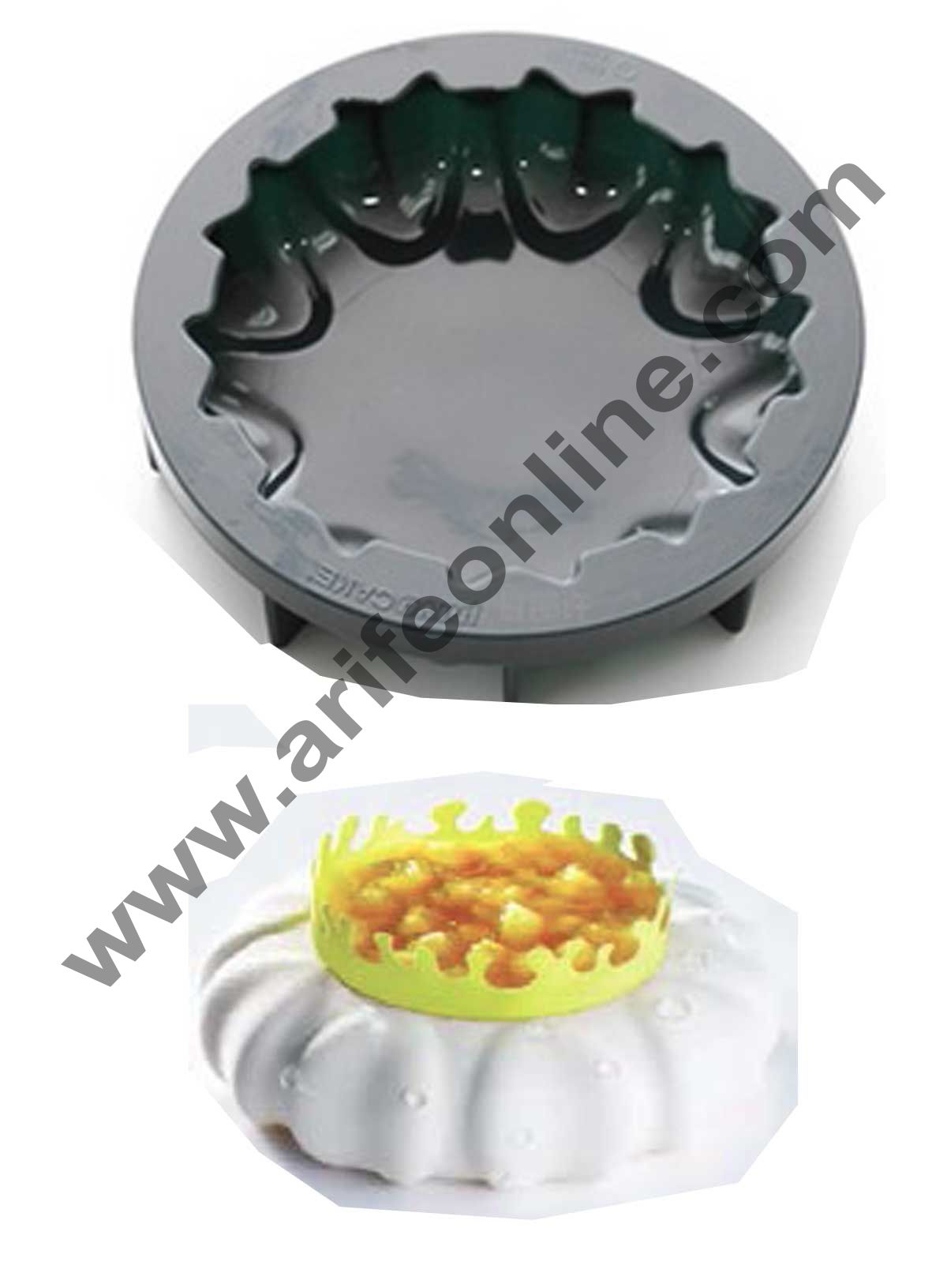 Cake Decor Silicon Petal Design Cake Mould Mousse Cake Mould Silicon Moulds