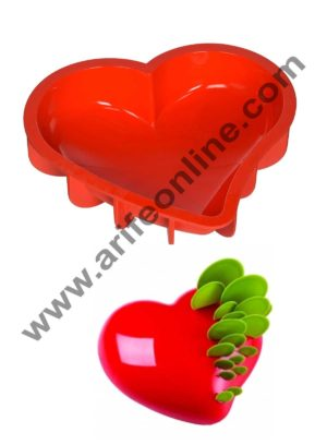 Cake Decor Silicon Passion Heart Design Cake Mould Mousse Cake Mould Silicon Moulds