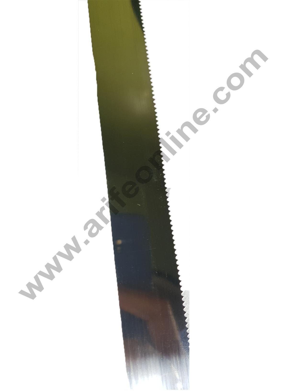 Cake Decor Straight Spatula Serrated Knife,Combo Cake Pallete Knife-12inch/1pieces