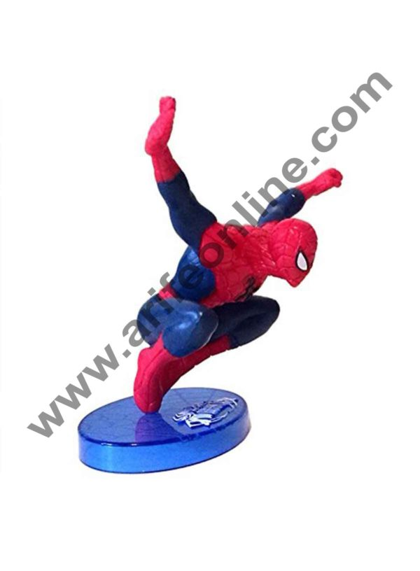 Cake Decor Ultimate Spider man CAKE TOPPER Superhero 7 Figure Set Birthday Party Cupcakes Figurines Marvel Comics 2