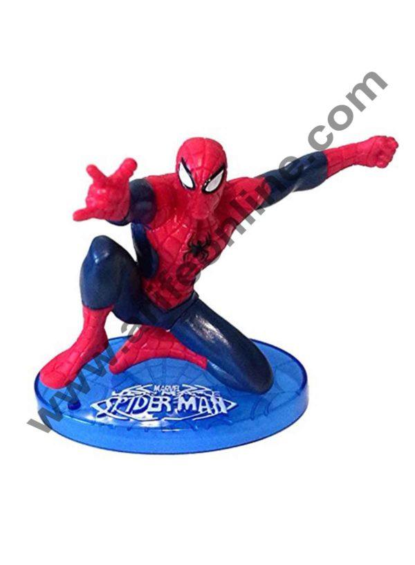 Cake Decor Ultimate Spider man CAKE TOPPER Superhero 7 Figure Set Birthday Party Cupcakes Figurines Marvel Comics 3