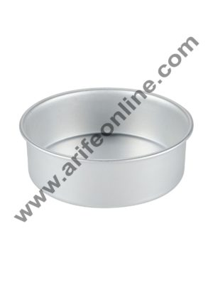 Cake Decor Round Aluminum Cake Mould Thali 6in x 2in