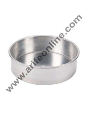 Cake Decor Round Aluminum Cake Mould Thali 8in x 2in