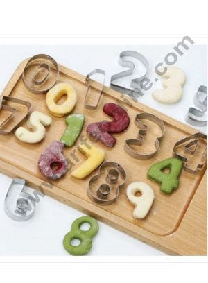 Number Cookie Cutters