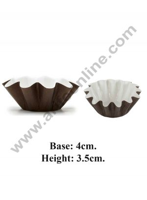 Flower shaped paper baking cup 08082