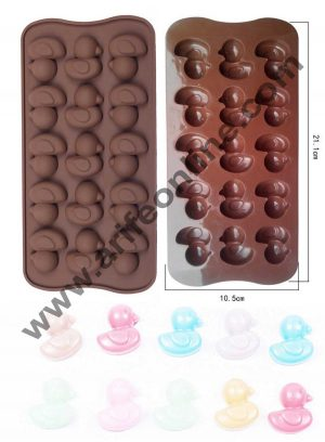 15 cavity Duck silicon chocolate mould