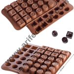 24 Cavity Silicone Chocolate Mould