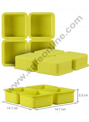 4 Cavity Silicone Soap Mold SBSOM-031