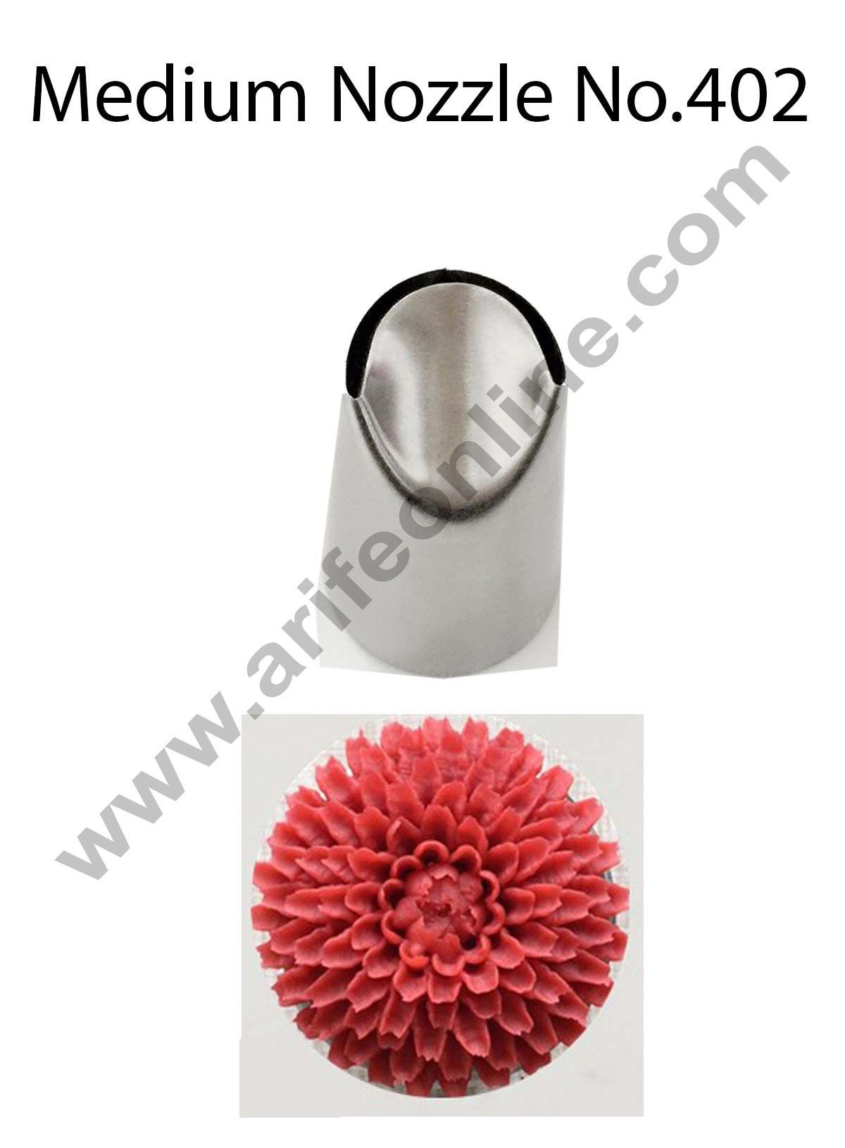 Cake Decor Medium Nozzle - No. 402 Medium Ruffle Frill Piping Nozzle