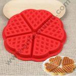 5 cavity heart waffle moulds SBSM-324