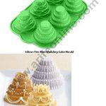 6 cavity 4 tier Mini Wedding cake SBSM-125