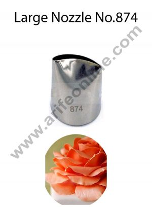 Cake Decor Large Nozzle - No. 874 Petal Piping Nozzle
