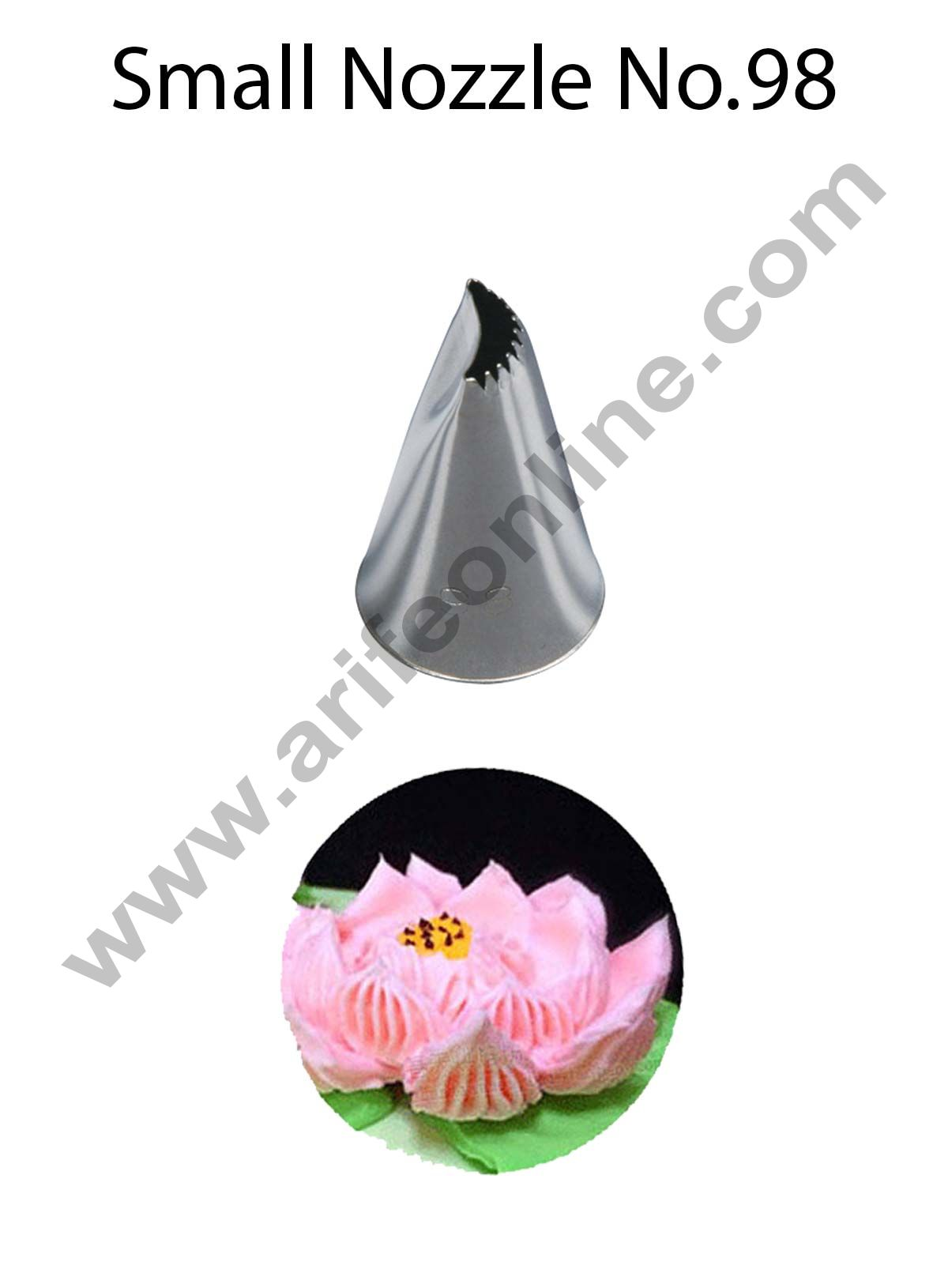 Cake Decor Small Nozzle - No. 98 Specialty Piping Nozzle