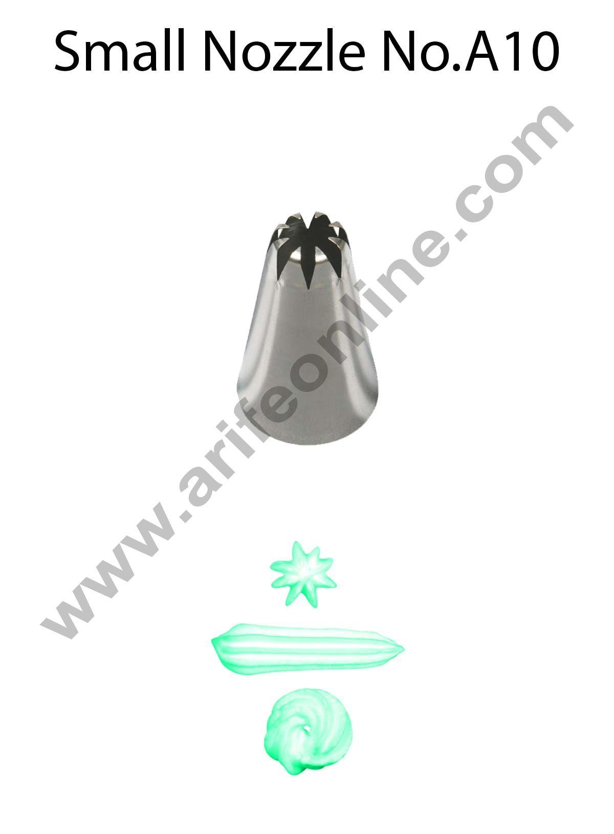 Cake Decor Small Nozzle - No. A10 Closed Star Piping Nozzle