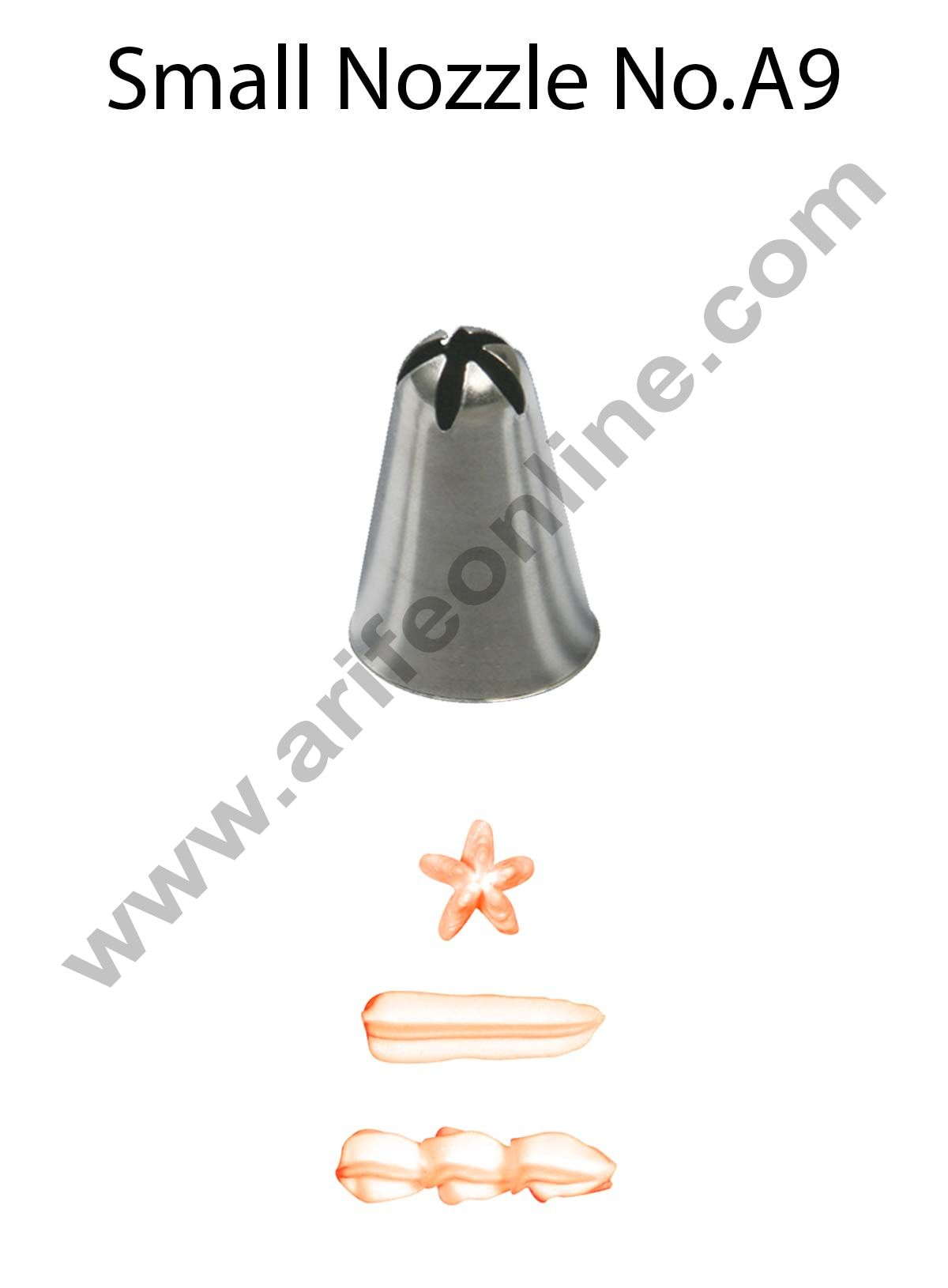 Cake Decor Small Nozzle - No. A9 Closed Star Piping Nozzle