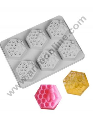 Bee Honeycomb Soap Moulds