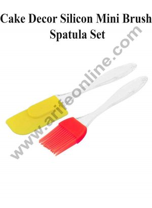 Cake Decor Silicon Mini Brush Spatula Set