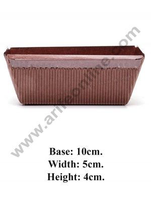 Inner coated Brown Plum Cake Mould 10123
