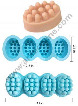 Massage Bar soap moulds size