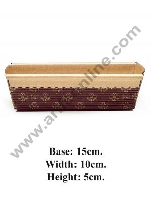 Novacart Brown Plum cake mould 10011