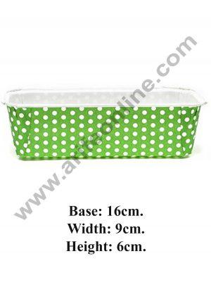 Polka Dot Plum Cake Mould Green 08915