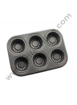 6 Cavity Frill Muffin