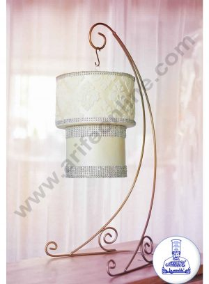 CHANDELIER-CAKE STAND TWO TIER